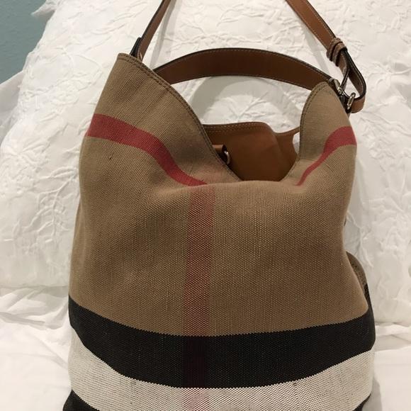 1b9dad30886a Burberry Handbags - Burberry Ashby medium bucket bag